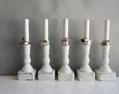 ON SALE One Ring Holder Display Organizer - Retail Jewelry Display - White Shabby Chic - Quantities Ready to Ship