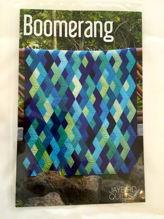 Quilt Patterns With Y Seams : BOOMERANG quilt pattern by Jaybird Quilts No Y seams fast