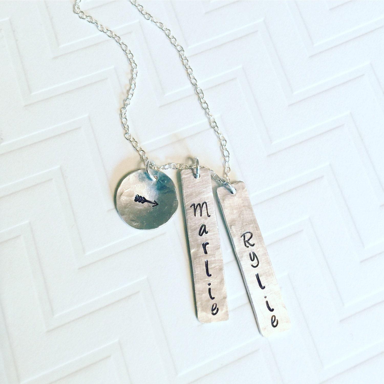 name necklace mother necklace gift for her mothers day. Black Bedroom Furniture Sets. Home Design Ideas