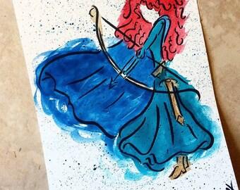 Merida painting
