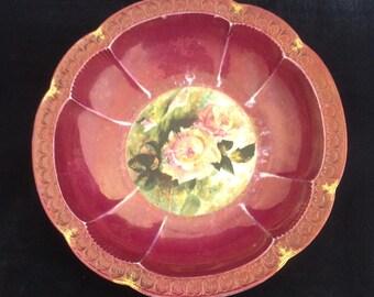 Rosenthal Bavaria Carmen Rose Bowl