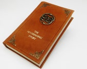 The NeverEnding Story - Cosplay Leather Book, Illustrated - Auryn - neverending
