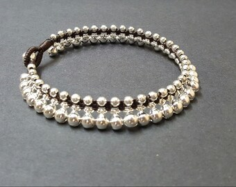 Jingling Silver  Anklet