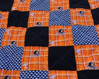 University Of Tennessee Go Vols Quilt In Multi