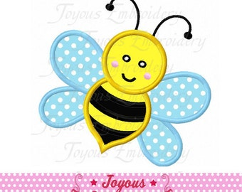 Instant Download Bee Applique Machine Embroidery Design NO:2182