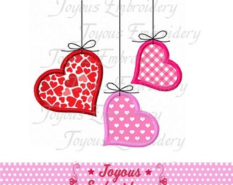 Instant Download Valentine day Heart Applique Embroidery Design NO:1903