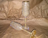 Custom Wedding Champagne Glasses Toasting Glasses Toasting Flutes For Bride Groom Champagne Flutes Wedding Gift Decorations Bride and Groom