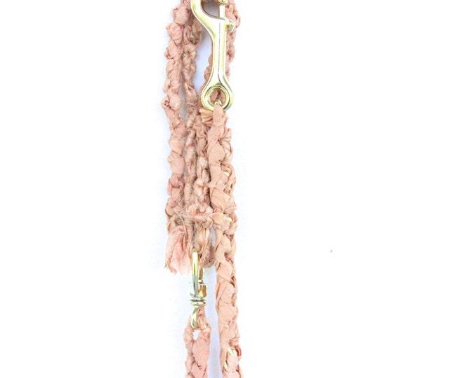 Peach Bridal Dog Leash