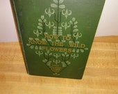 Early 1900's Wild Flower Book, Mrs. William Star Dana, with 150 Plant Illustrations