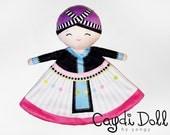 Hmong Girl Plushie Doll