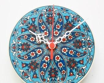 wall clocks, home and living, ceramic clocks