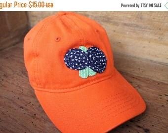 Sale Baseball Cap - Orange/Navy - Ready to Ship