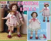 "Custom dolls ""Cati and Lili"""