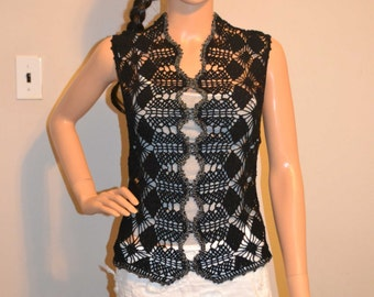 Shinning Night Custom Made Size Crochet Shirt Sizes 0 to 20.