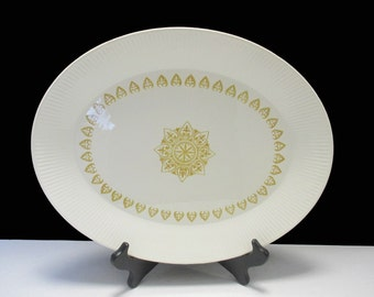 Homer Laughlin Regency Shape - Sheffield China  - Serenade Pattern - Large Platter