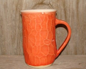 16 oz. Sunset Orange Coffee Cup