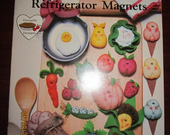 Fruity and Veggie Refrigerator Magnets