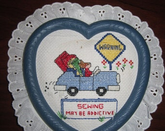 Sewing Heart Wall Decor