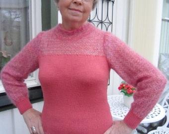 Elegant Handknit Sweater