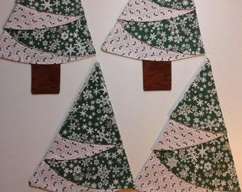 Christmas napkins set of four