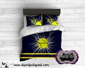 Custom Design and Personalized Softball Bedding  (Monogrammed or Personalized by Sublimation Printing)