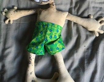 OOAK Voodoo art doll