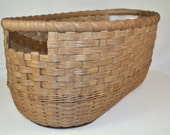 Babette - Large Gathering Basket or Farm House Decor