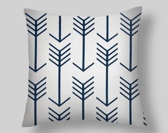 Blue Pillow Covers Blue Pillows Decorative Pillows  Size Choice  Accent Pillows Throw Pillows Decorative Pillows Home