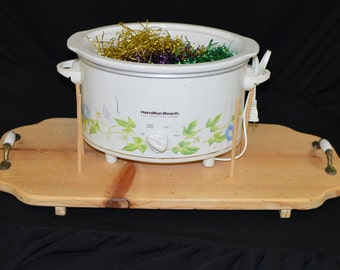 Casserole Carrier, Crock pot carrier, Slow Cooker Transport, Hot Plate Board, Multi sized board, Pot Luck Dinner, Take and Go, Dish to Pass