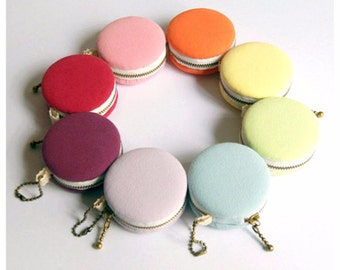 6.2cm Macaron Coin Purse / Mini Jewelry Box - Sweet Candy