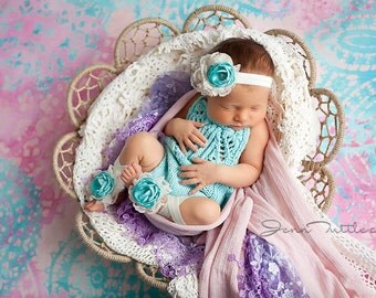 Baby Barefoot Sandals - Baby Sandals - Baby Ballet Sandals - Infant Sandals - Flower Baby Sandals - Ballet Barefoot Sandals