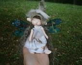 fairy doll, clay doll, art doll,  posable doll,  woodland fairy