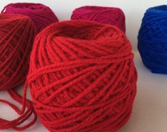 Mexican acrylic yarn Red