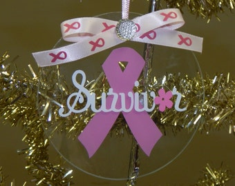 Cancer Survivor Ornament