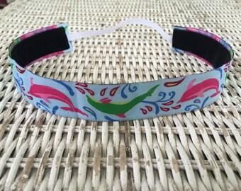 Womens Dolphin Headband - Girls Fashion Headband - Adult Headband - Kids Headband - Adjustable Headband - Sports Headband - Dolphin Gift