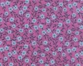 20% off! 1canoe2 Purpe Floral Daisy Chain for Moda Fabric Tucker Prairie Moda Floral - Purple Floral - 1canoe2 Fabric Aster Floral Material