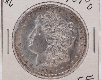 Morgan Silver Dollar 1890-O