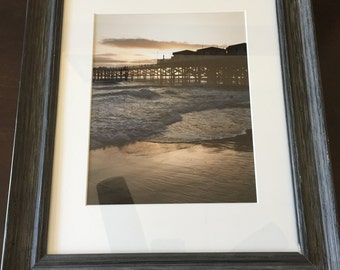 Sunset pier