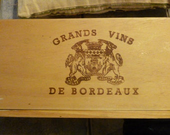 French Vintage Wine Box/Crate  Panels