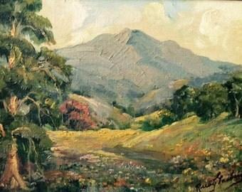 Ruby Gasberg Plein Air Oil Painting