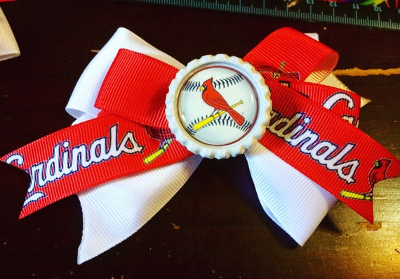 Cardinals Baseball bow