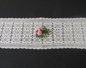 Long Crochet Runner