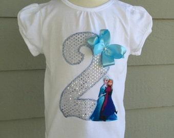 Princess Birthday Shirt, Ice Queen Birthday Shirt. Sparkle Silver Birthday Shirt. Queen Birthday Shirt. Sisters Birthday Shirt. Elsa and Ann