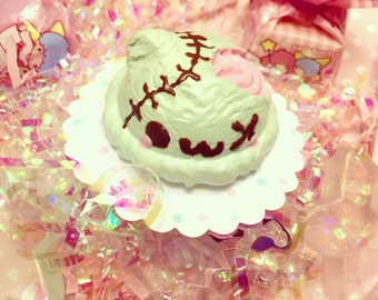 Kawaii Zombie Ice Cream Teddy Ring Halloween Special