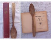Vintage cookbook / With a Jug of Wine by Morrison Wood / 1960s hardcover cookbook / have fun cooking with wine