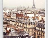 Paris photography - Paris panorama III. - Giclee Art Print,Home decor,Fine art photography,Paris decor,Art print,Art Poster,Gift ideas,Wall