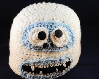Bumble The Abominable Snowman Crochet Hat