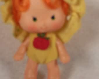 Vintage Strawberry Shortcake Doll-Apple Dumplin-All Original-American Greetings-1979-
