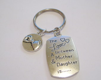 1 Pinky Promise Mother Keychain
