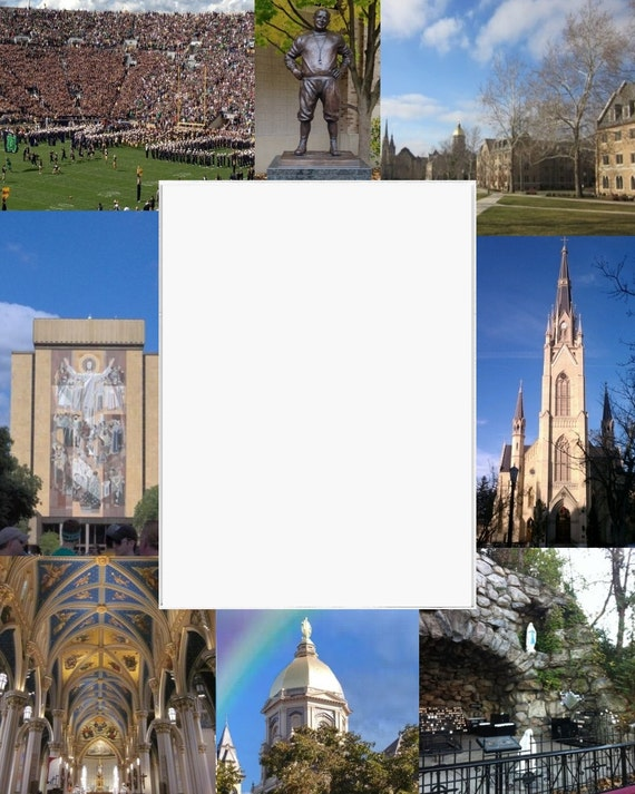 University Of Notre Dame Frame Picture Frame Photo Mat